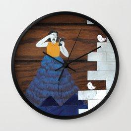 Tweet Tweet Wall Clock