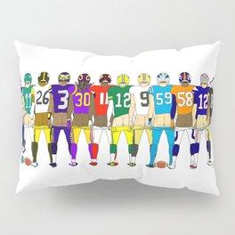 Football Butts Pillow Sham