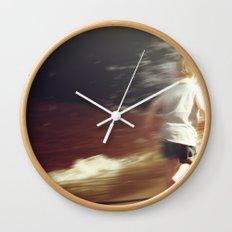 Youthful Abandon Wall Clock