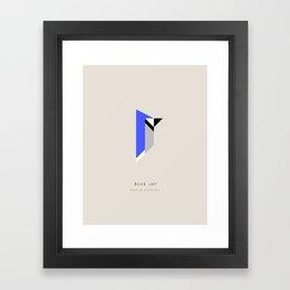 Blue Jay Framed Art Print