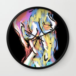 The Female Form Wall Clock