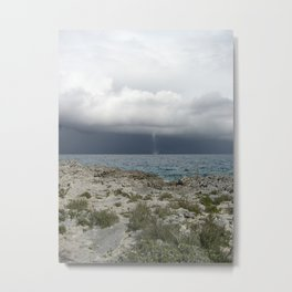 Tropical Bahama Twister Metal Print