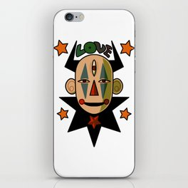 Alien Love Clown 666 iPhone Skin