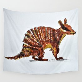 Banded Numbat Wall Tapestry