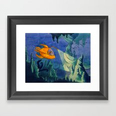 Deep Sea Adventure Framed Art Print