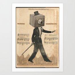 The Salesman Art Print