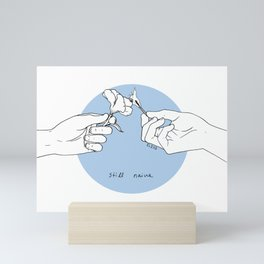 Still Naive Mini Art Print