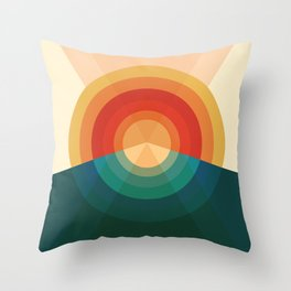 Sonar Throw Pillow