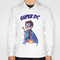 dc comics Hoodies featuring Super DC by Sunshunes