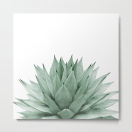 Agave Green Summer Vibes #1 #tropical #decor #art #society6 Metal Print