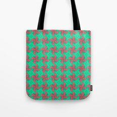 Pinwheels Pattern Tote Bag