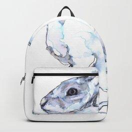 Hare on alert Backpack
