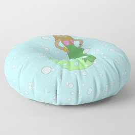 Sloth Mermaid Floor Pillow