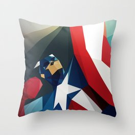 Front Man Throw Pillow