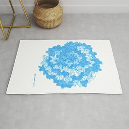 March's Blue 2  | Artline Drawing Pens Sketch Rug