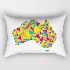 Abstract Australia Bright Earth Rectangular Pillow