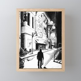 Swing Framed Mini Art Print