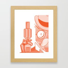 Robo-Mobstah Framed Art Print