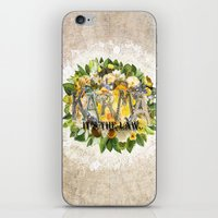 karma iPhone & iPod Skins featuring Karma by Jenndalyn