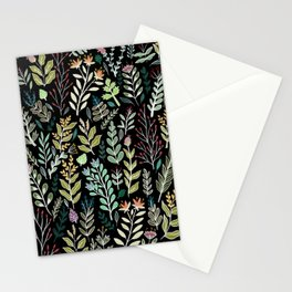 Dark Botanic Stationery Cards