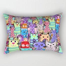 Cat world Rectangular Pillow