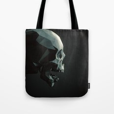 Skull roar - black Tote Bag