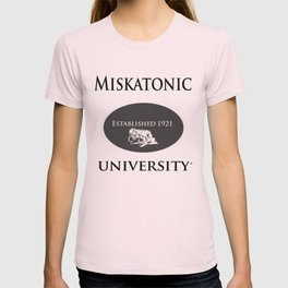 Lovecraft Series: Miskatonic University logo T-shirt