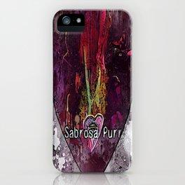 Sabrosa Purr  iPhone Case