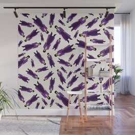 Purple Pattern 1 Wall Mural