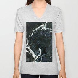 Dark Pegasus Unisex V-Neck