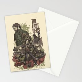 The Last of Us Artwork Stationery Cards