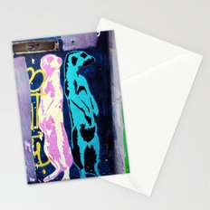 Meerkat Graffiti Stationery Cards