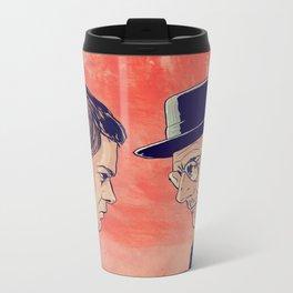 Dexter and Walter Metal Travel Mug