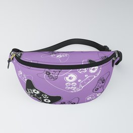Video Game Lavender Fanny Pack