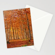 Autumn in the forest Stationery Cards