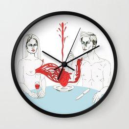 Fine Dining Wall Clock
