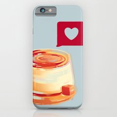 Caramel Heart Flan iPhone 6s Slim Case