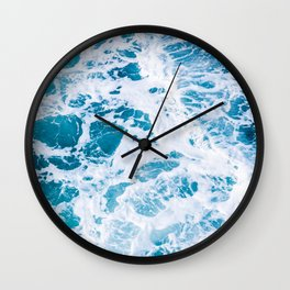 Perfect Ocean Sea Waves Wall Clock