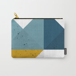 Modern Geometric 19 Carry-All Pouch
