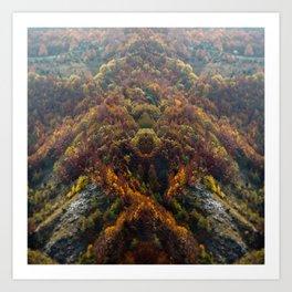 Riflessione 1 - Dreamscape Art Print