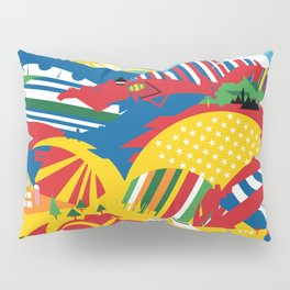 Flagscapes: World Farmscape Pillow Sham