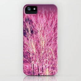 Starry Night in a Magic Forest iPhone Case
