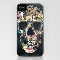 Vintage Skull Slim Case iPhone (4, 4s)