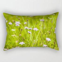 Flowery meadow Rectangular Pillow