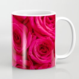 Red Roses Fine Art Photography, Flower Coffee Mug