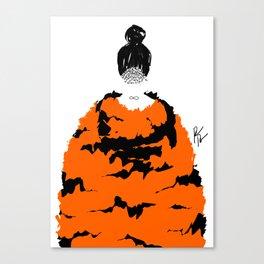 TIGER FUR Canvas Print