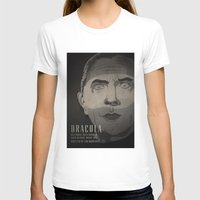 dracula T-shirts featuring Dracula  by James Northcote