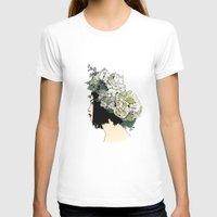 geisha T-shirts featuring Geisha by Hypathie Aswang