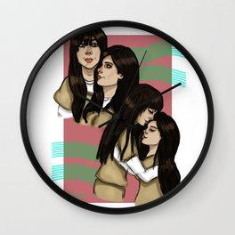 Flaca and Maritza Wall Clock
