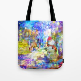 Be Happy in New 2016 Year ! Tote Bag